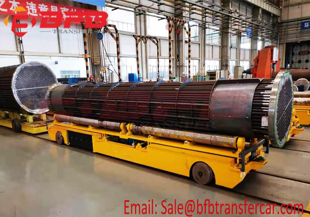 10 ton transfer vehicle on rails
