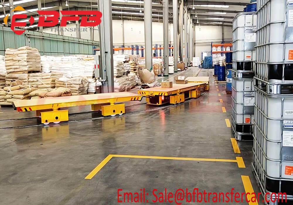 Electrical Battery Rail Cart