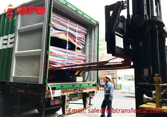 20 ton rail trolley