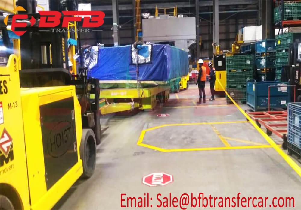 120 ton towing trailer