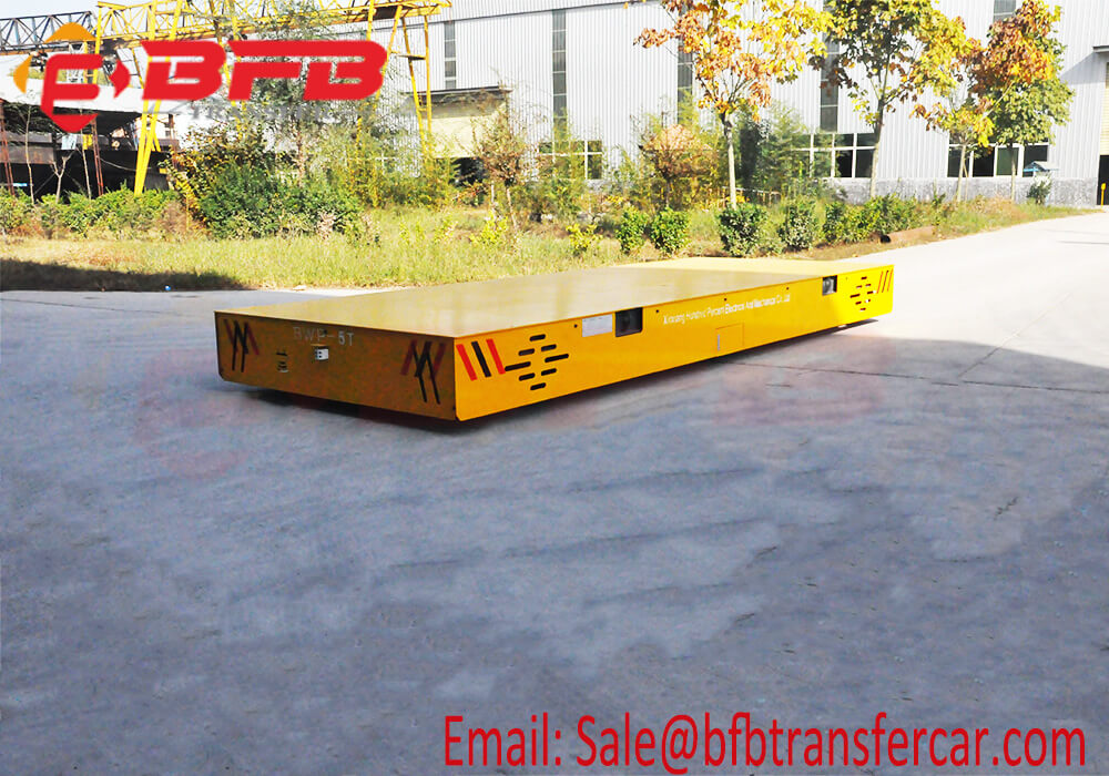 electrical trackless transfer cart
