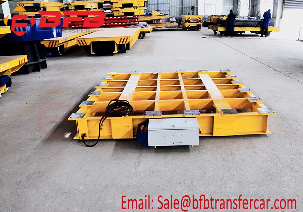 self-propel flat table railway transfer car