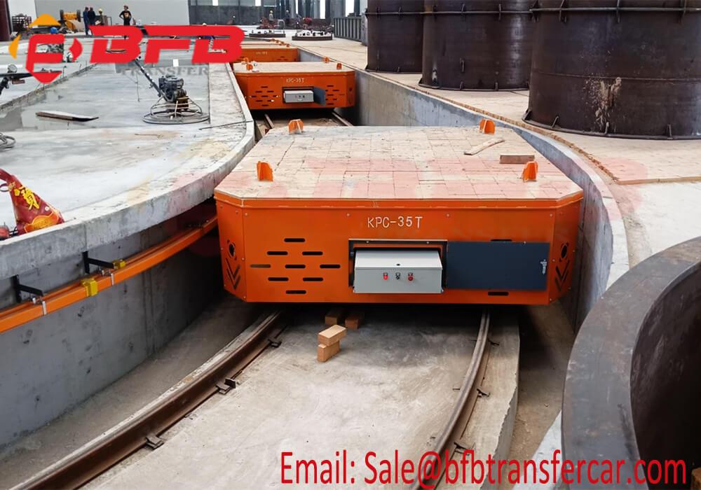 self-propelled transfer platform
