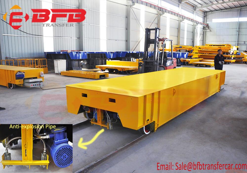 10t railway flat freight wagon