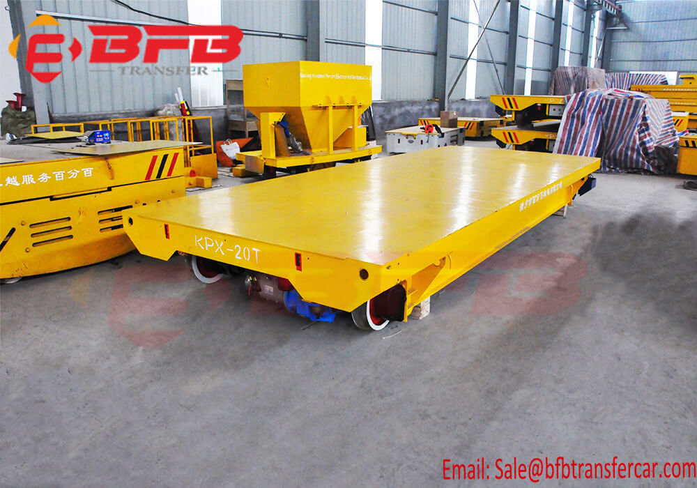 chargeable rail cart