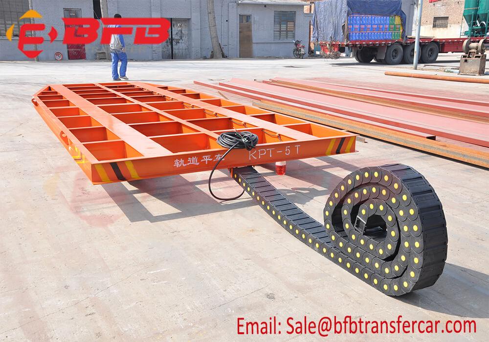 5 ton rail flat transfer cart