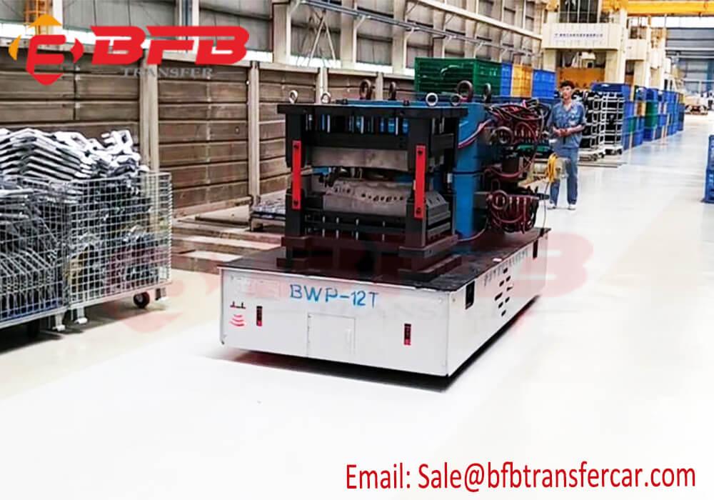 12 ton mold transfer trolley