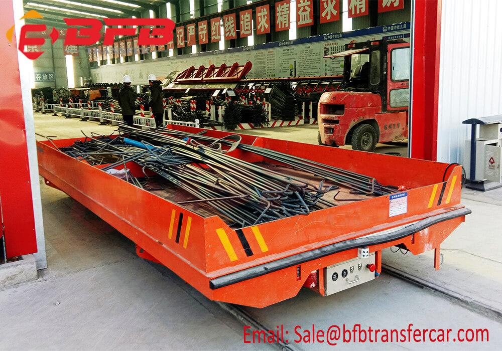 5 ton transfer trolley by rails
