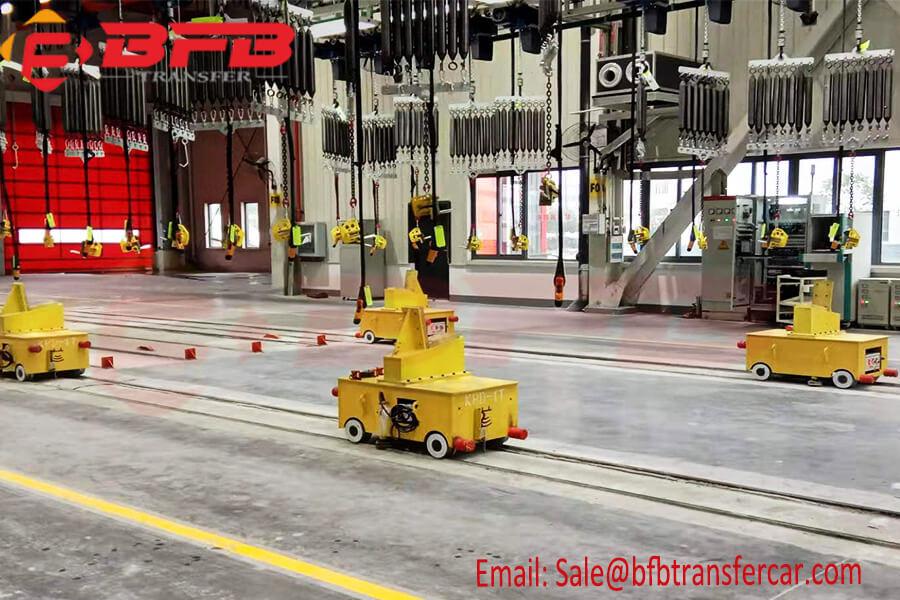 1 ton motorized rail cart