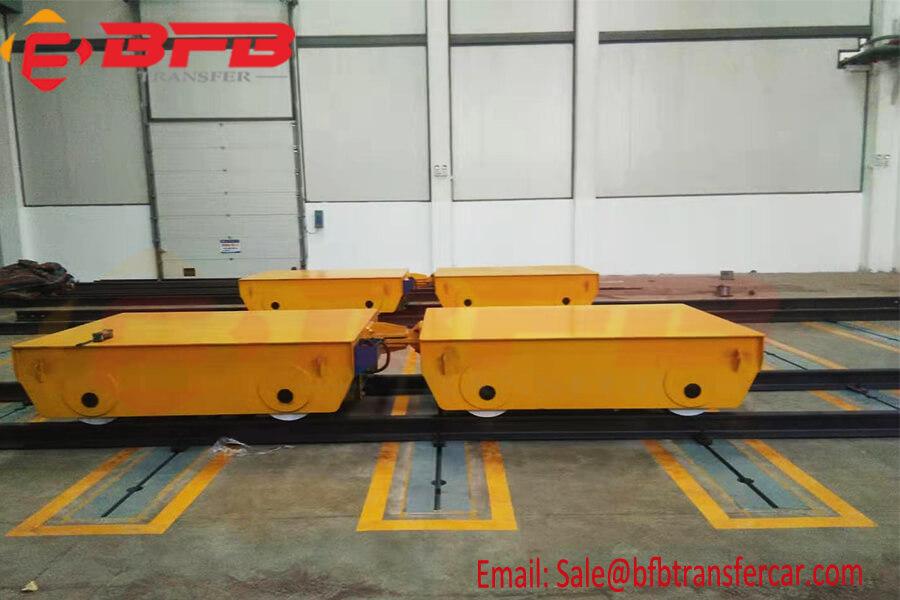 30t Battery Powered Motorised Transfer Trolleys