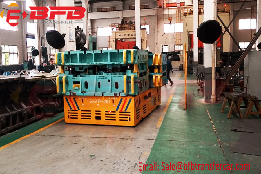 25 Ton Trackless Steerable Cart