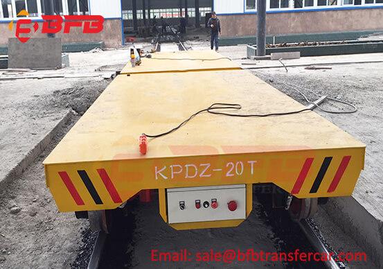 KPD Type 20 Ton Industrial Railroad Cart Q235 Material For Indoor Outdoor Mining Equipment Handling