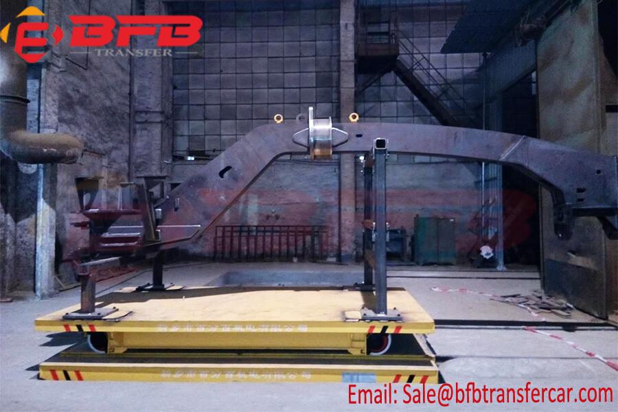China Custom Anti Explosion Electric Rail Traverser 3T 5T Ferry Transfer Trolley