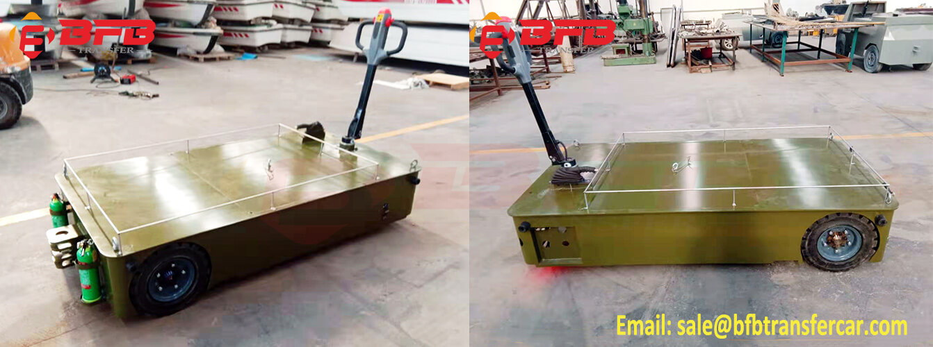 Hand Operated Electric Tow Tractor