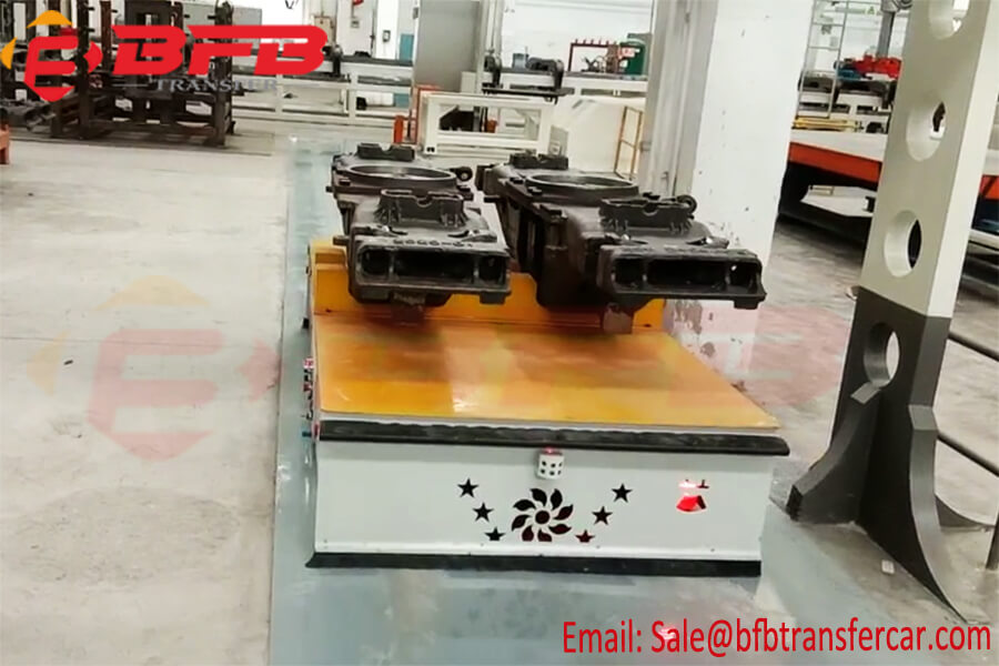 Operation Instruction Of Magnetic Nail Guide AGV Automated Guided Vehicle System