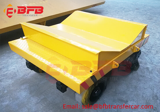 10 Ton V Frame Unpowered Trackless Coil Trailers For Sale Exported Philippines