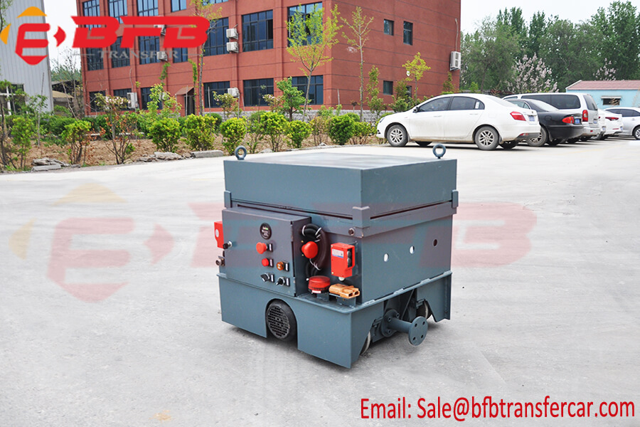 4 Ton Customized Battery Power Rail Transfer Cart For Shipyard Boat Traction Exported Nepal