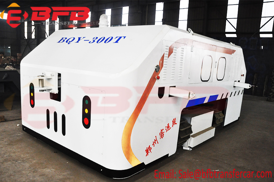 300 Ton Load Railway Transfer Trolley Electric Tow Tractor For Towing Locomotive On Rails And Road