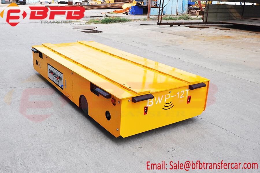 12 Ton Outdoor Transport Platform Car With Climbing System For Concrete Beam Transfer