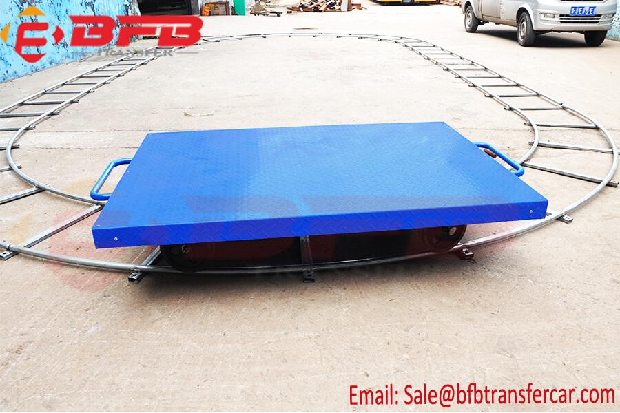 15kg Light Automatic Battery Rail Transfer Trolley RGV For Detecting Instrument Handling