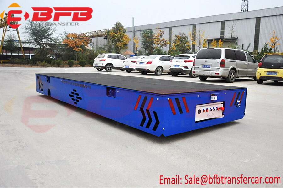 20 Ton Battery Power Omni Move Transport Vehicle For Metal Pipe Handling