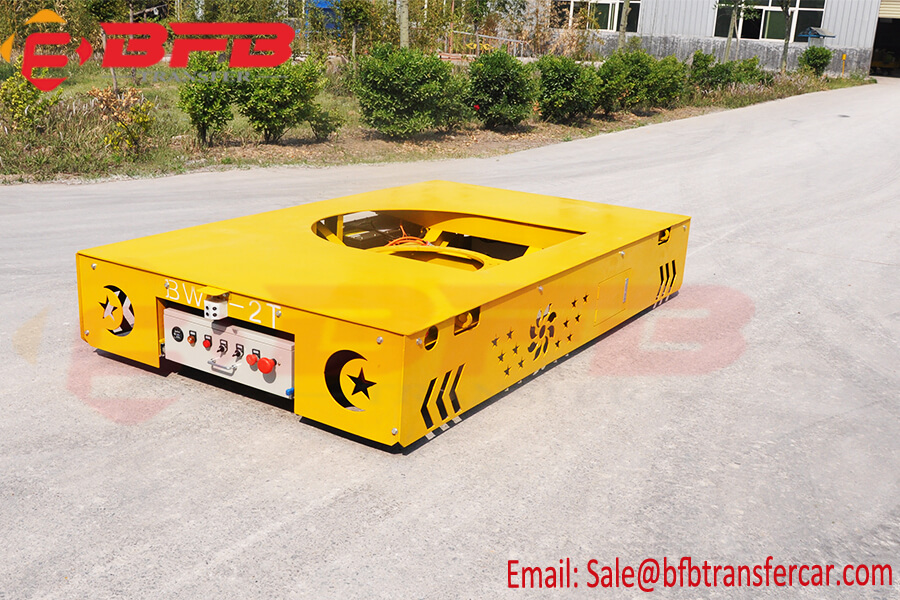 2T Battery Transfer Cart Power Line Trolley Used For Transfer Heavy Cargo Or Equipment