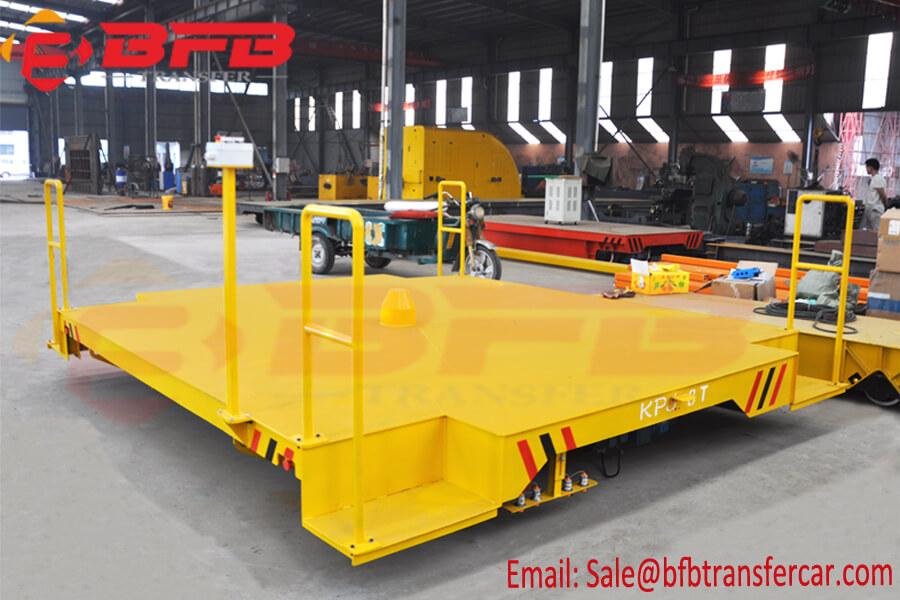 8T Cable Drum Transporter Workshop Transfer Cart Remote Control For Basket Transportation
