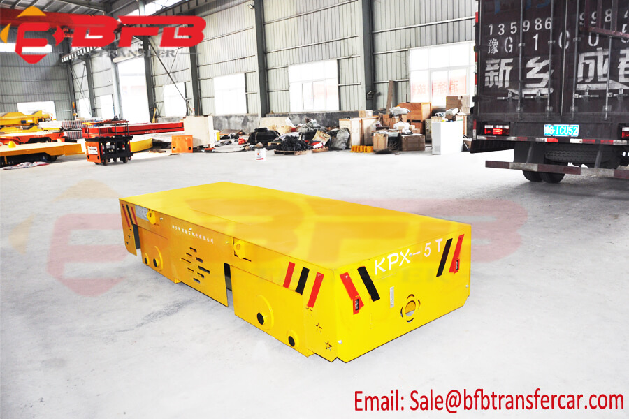 Aluminum Factory Coil Billet Transport Cart 5 Ton Capacity For Yard Movement