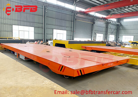 Explosion Proof Rail Type Transfer Car Trolley 15 Ton 12T For Spray Painting Workshop