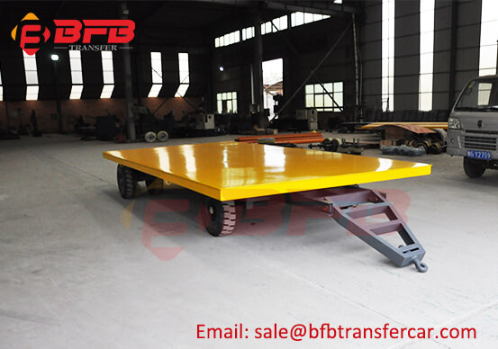 Armenia Heavy Weight Industrial Trailer Transfer Car For Workshop Coil Carrying
