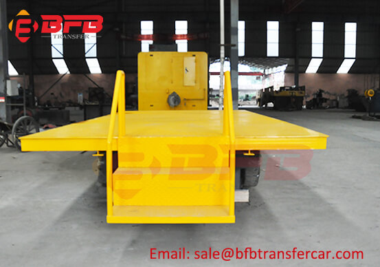 Japan Manual Heavy Weight Transport Platform Trolley 5 Ton For Workshop Hopper Transfer