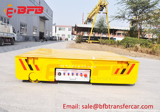 Workshop Steerable Battery Operated Transfer Carts 5 Ton Manufacturer Price