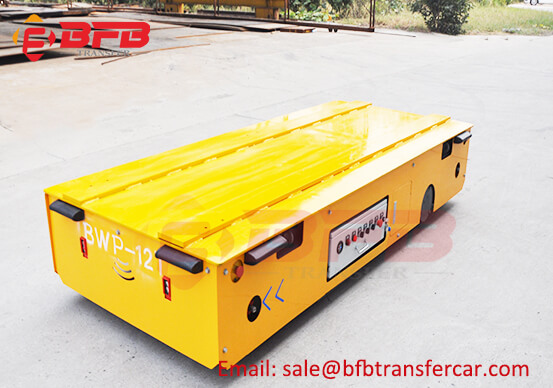 Transporter Autos Trackless Electric Platform Cart Trolley 12T