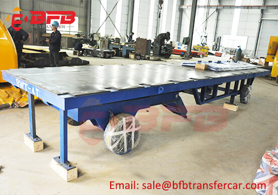 Thailand Flatbed Towing Axle Trailer Dolly 4T Steel Billet Carrier