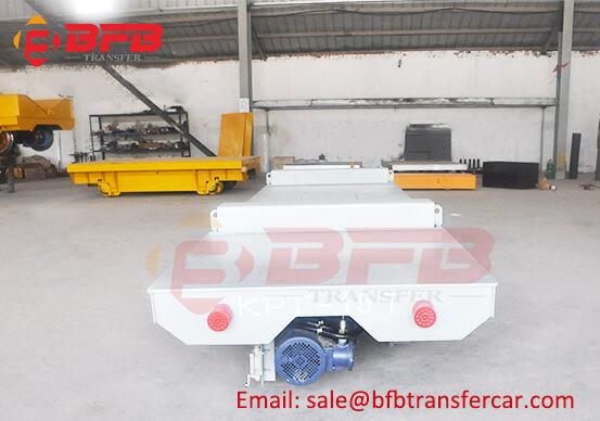 Anti - Explosion 15T Rail Transfer Platform Car For Projectile Bodies Handling