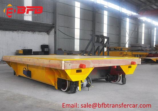 Railroad Battery Operated Transfer Trolley 15T For Bogie Wheel Handling
