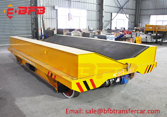Electric Railway Coil Transfer Car 25 Ton For Galvanized Coil Transportation