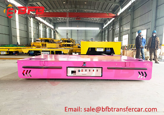 15T Battery Power Electrical Railway Trolley For Workshop Robot Transfer