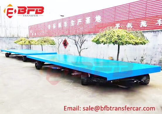 Workshop 10 Ton Forklift Towing Trailer For Pallet Transfer Exported Cambodia