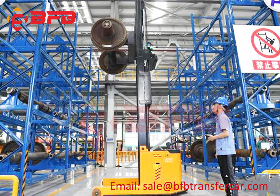 Befanby Transfer Cart Used In Reprocessing Workshop Of Scrapped Railway Materials