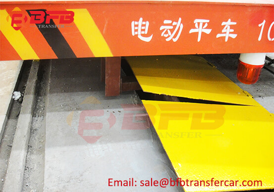 CE 10T Busbar Power Rail Guided Cart For Assembly line Transfer