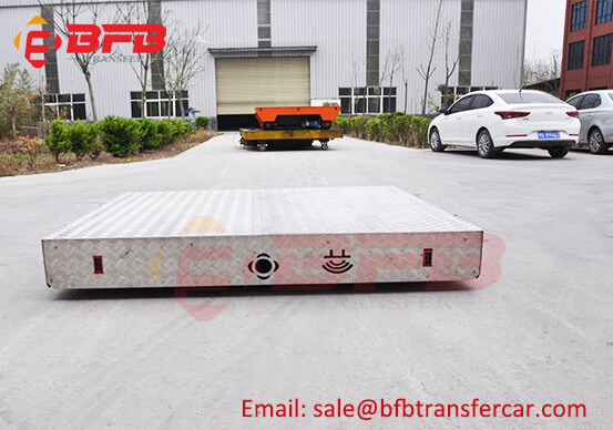300KG Electric Cable Driven On-Rail Carts For Warehouse Overhead lines Transfer