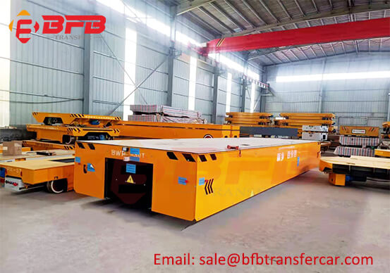 Customized Heavy Load Electric Trackless Battery Transfer Cart Operation Guidance