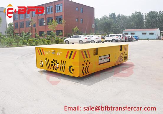 25 Ton Battery Industry Transfer Cars For Workshop Die Mold Handling