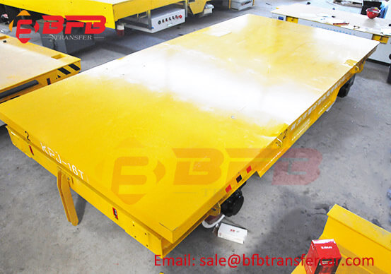 Hot Metal Ladle Transfer Car Scrap Feeder Induction Furnace Transportation