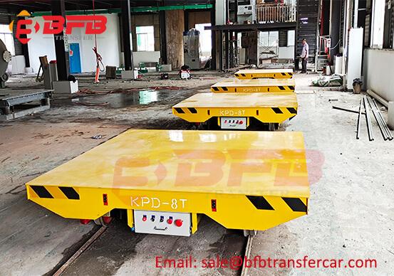 Industrial 8 Ton Turntable Transfer Car For Workshop Material Handling