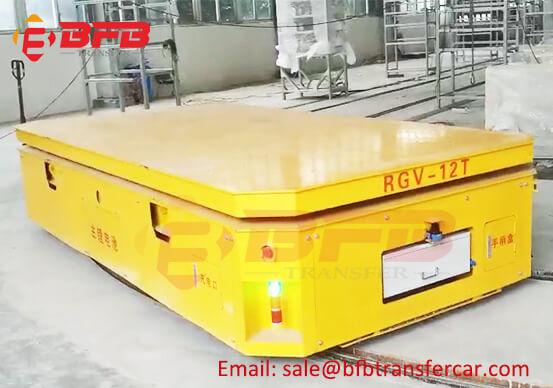 12MT Battery Powered RGV Transfer Cart For Intelligent Factory