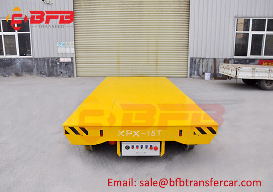 15T Light Duty Battery Operate Travel Cart Moved On Rails Indoor