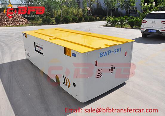 20 Ton Steerable Battery Power Transfer Car For Roller Docking