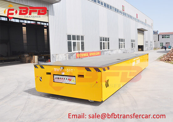 Battery Powered Trackless 30Ton Heavy-Duty Mold Cart Manufacturer Exported Korea